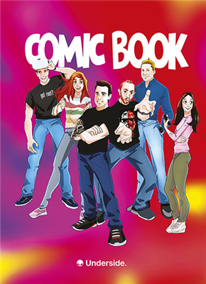 Comic Book - Undersiders Power